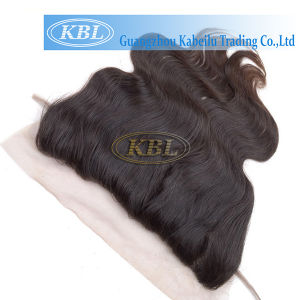 Black Human Hair Brazilian Lace Frontal 13*3 pictures & photos