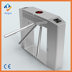 RFID Card Automatic Tripod Turnstile Gate with ID Card Reader pictures & photos