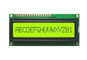 Character LCD Module 16X1 Yellow Color LCD Module pictures & photos
