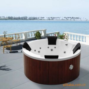 Monalisa Whirlpool Massage Balboa Panel Acrylic Outdoor SPA (M-3351) pictures & photos