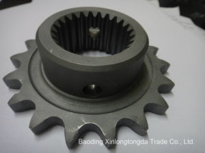 Cast Iron Chain Sprocket with CNC Machining pictures & photos
