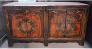 Chinese Antique Furniture Mongolia Cabinet pictures & photos