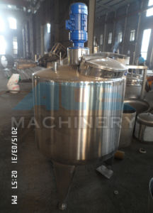 Sanitary Bulk Milk Cooling Tank 2000liter pictures & photos