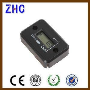 Waterproof Digital LCD Auto Motorcycle Engine Tach Hour Meter for 4 Stroke Gas Engine pictures & photos