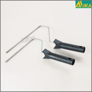 Black Plastic Handle Paint Roller Frame