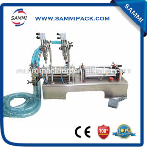 Semi Automatic Small Volume Drinking Water Bottle Filling Machine (GFA-2Y-300)