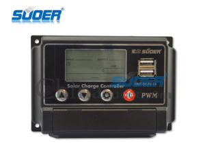 Suoer 12V 24V 30A Solar Controller (ST-W1230) pictures & photos