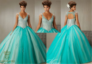 Tailored Ladies Party Dance Tutu Embroidery Prom Dress pictures & photos