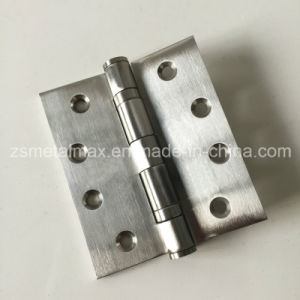Stainless Steel 4 Inch 2 Ball Bearing Wooden Door Hinge (104035) pictures & photos