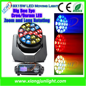 19X15W RGBW Bee Eye Moving Head LED Effect Lights pictures & photos