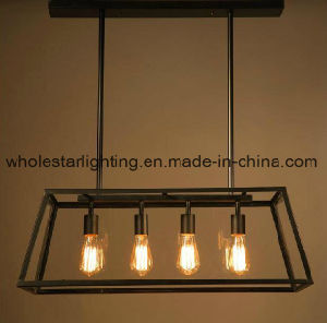 Traditional Metal Chandelier with Glass Shade (WHG-653) pictures & photos