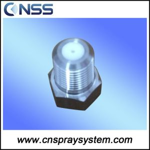 Solid Stream Spray Nozzle for Paper Machine with Ceramic Insert pictures & photos