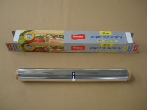 Household Aluminum Foil Roll for Food Catering Industry pictures & photos