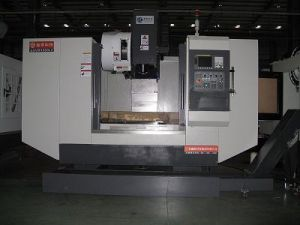 Vertical Milling Machine for Metal Mold Making