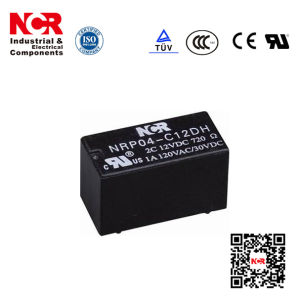 0.15W 12VDC Miniature PCB Relay (NRP04) pictures & photos