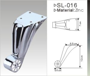 Chrome Plated Aluminium Alloy Furniture Leg (SL-079) pictures & photos