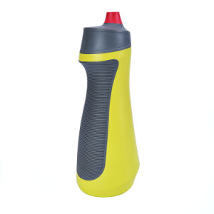 600ml Plastic Sport Bottle, Water Bottle with TPR & TPE Design pictures & photos