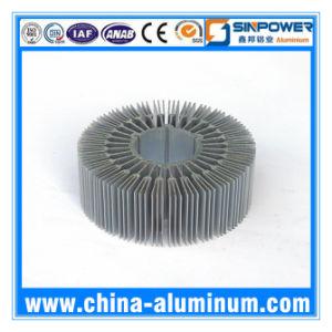 CNC Machined Radiator Aluminum Extruded Profiles LED Heatsink