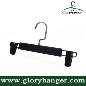 DIP Rubber Paint Plastic Pant Hanger with Two Clip pictures & photos