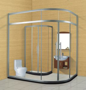 New Design Tempering Glass Shower Door (A860) pictures & photos