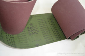 Waterproof Calcined Aluminum Oxide Abrasive Cloth/Belt Gxk51-F pictures & photos
