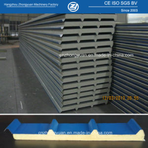 Roofing PU Sandwich Panel for Warehouse pictures & photos