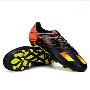 Sports Football Boots Outdoor Soccer Shoes for Men Boy (AK1532-1D) pictures & photos
