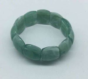 Imitation Jade Bracelet (XBL13556) pictures & photos