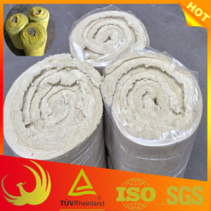 Insulation Rock Wool Material Fireproof Blanket for Pipe pictures & photos