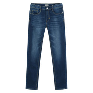 OEM High Quality Mens Stone Wash Cowboy Pants pictures & photos