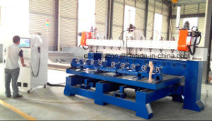 3.5kw CNC Router 5 Axis with 10 Heads for Furniture Legs Sofa Legs 3D Sculptures pictures & photos