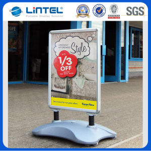 45mm Wheeled Water Base Banner Stand Waterproof Sign Board (LT-10G) pictures & photos
