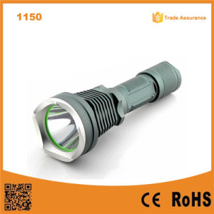 1150 10W 500 Lumens Aluminum Rechargeable Flashlight pictures & photos