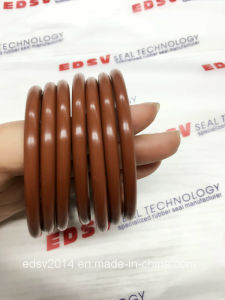 Brown Color FKM Viton75 Rubber O-Ring pictures & photos