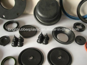 Black Anti-Aging EPDM Rubber Parts for Vehicle Use pictures & photos