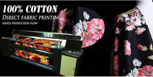 1.8m Belt Conveyor Type Image Direct Printing Digital 100% Cotton Textile Printer pictures & photos