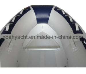 (CE) Small Aluminum V Hull Inflatable Boats pictures & photos