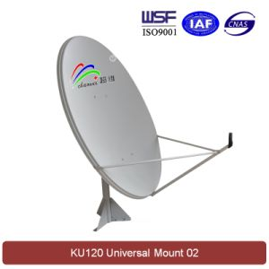Ku 120cm Satellite Dish Antenna (Universal Mount 02) pictures & photos