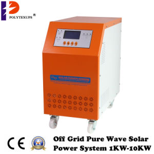 Hybrid Solar Inverter for 3kw/4kw/5kw/6kw with MPPT/PWM Solar Charge Controller pictures & photos