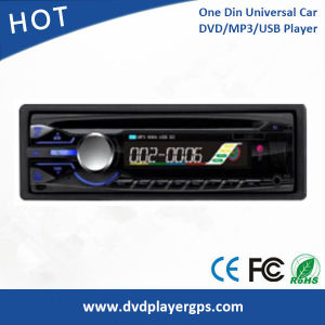 Universal One DIN Car DVD Player with USB/SD/MP3 Detachable Panel pictures & photos