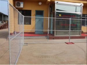 6′x12′temporary Construction Chain Link Fence Panel pictures & photos