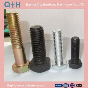 Zinc Plated Hex Bolts (DIN931 DIN960 DIN601 Half threaded) pictures & photos
