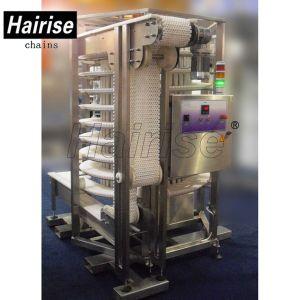 Food Grid POM/PP Modular Belt Screw Conveyor System pictures & photos
