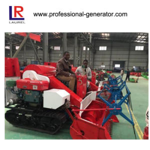 Mini Rice Harvesting Machines, Small Grain Combine Harvester pictures & photos