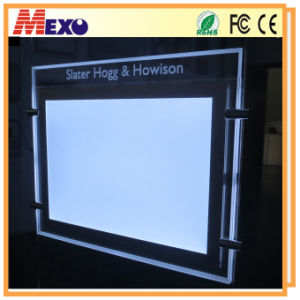 Outdoor LED Billboard Lights Crystal Frame LED Backpack Billboard pictures & photos