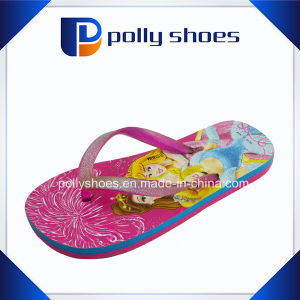 Kid Flip Flop EVA Wedge Sole Flip Flops pictures & photos