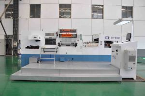 Automatic Flatbed Foil Stamping Die Cutting and Creasing Machine pictures & photos