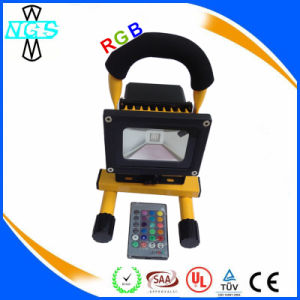 Ce RoHS Waterproof 5hrs Portable Rechargeable 20W LED Flood Light pictures & photos