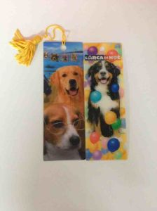 2015 Mini Lenticular 3D Bookmarks with Tassels pictures & photos