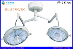 High Quality Hospital Ceiling Double Dome LED Surgery Operation Light pictures & photos